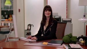 Anne Hathaway dans le Diable s habille en Prada - 04/12/11 - 02