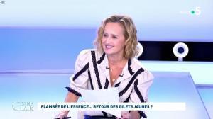 Caroline Roux dans C dans l'Air - 18/10/21 - 01