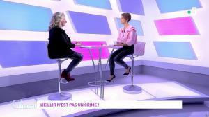 Mélanie Taravant dans C à Dire - 01/10/21 - 02