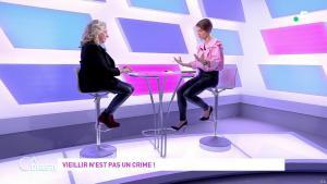 Mélanie Taravant dans C à Dire - 01/10/21 - 03