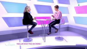 Mélanie Taravant dans C à Dire - 01/10/21 - 05