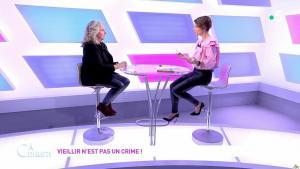 Mélanie Taravant dans C à Dire - 01/10/21 - 06