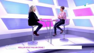 Mélanie Taravant dans C à Dire - 01/10/21 - 08