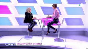 Mélanie Taravant dans C à Dire - 01/10/21 - 11