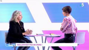 Mélanie Taravant dans C à Dire - 01/10/21 - 13