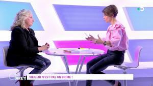 Mélanie Taravant dans C à Dire - 01/10/21 - 16