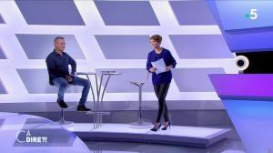 Mélanie Taravant dans C à Dire - 15/10/21 - 02