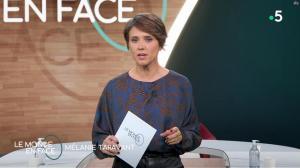 Mélanie Taravant dans le Monde en Face - 10/10/21 - 09