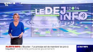 Pascale De La Tour Du Pin dans le Dej Info - 01/10/21 - 02