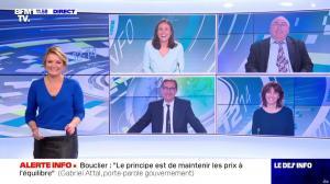 Pascale De La Tour Du Pin dans le Dej Info - 01/10/21 - 03