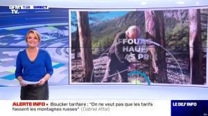 Pascale De La Tour Du Pin dans le Dej Info - 01/10/21 - 05