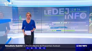 Pascale De La Tour Du Pin dans le Dej Info - 01/10/21 - 09
