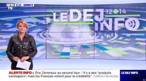 Pascale De La Tour Du Pin dans le Dej Info - 06/10/21 - 02