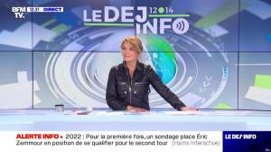 Pascale De La Tour Du Pin dans le Dej Info - 06/10/21 - 03