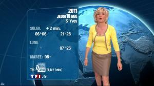 Evelyne Dhéliat à la Météo 1 20h - 18/05/11 - 2