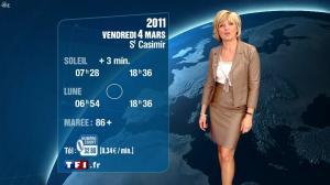 Evelyne Dhéliat à la Météo 20h - 03/03/11 - 1