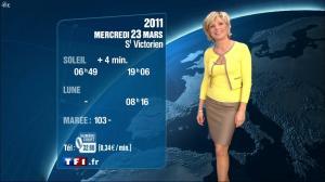 Evelyne Dhéliat à la Météo 20h - 22/02/11 - 1