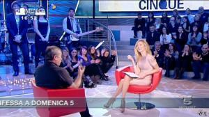 FederiÇa Panicucci dans DomeniÇa Cinque - 23/01/11 - 3