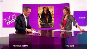 Marie-Ange Casalta dans 100 Pour 100 Mag - 18/05/11 - 2