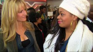 Sandrine Corman dans X Factor - 15/03/11 - 5