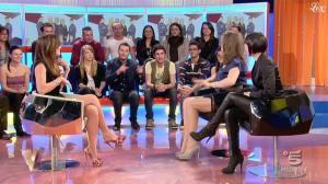 Silvia Toffanin, Giulia Pauselli et Diana Del Bufalo dans Verissimo - 19/03/11 - 1