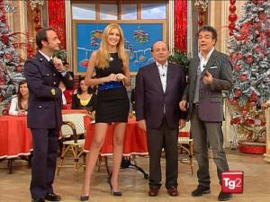 Adriana Volpe dans I Fatti Vostri - 29/12/09 - 04