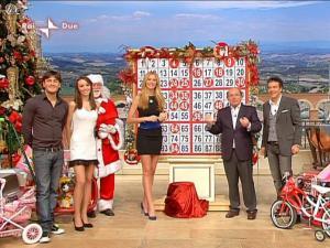 Adriana Volpe dans I Fatti Vostri - 29/12/09 - 08