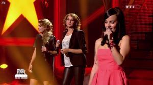 Chimène Badi, Alizée et Claire Keim dans Michel Berger Tout Pour la Musique - 08/06/12 - 06