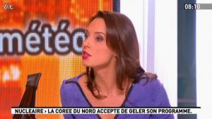 Julia Vignali dans la Matinale - 01/03/12 - 01