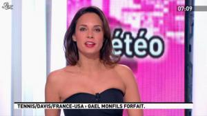 Julia Vignali dans la Matinale - 03/04/12 - 02