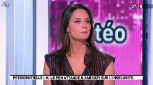 Julia Vignali dans la Matinale - 05/03/12 - 01