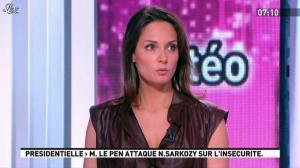 Julia Vignali dans la Matinale - 05/03/12 - 02