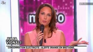 Julia Vignali dans la Matinale - 06/02/12 - 02