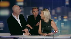 Laurence Ferrari dans Bande Annonce avec Canteloup - 03/10/11 - 04