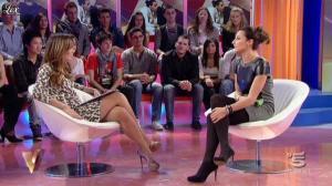 Silvia Toffanin et Elisa Di Francisca dans Verissimo - 20/11/10 - 03