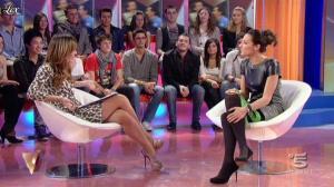 Silvia Toffanin et Elisa Di Francisca dans Verissimo - 20/11/10 - 05