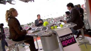 Tatiana Golovin dans Roland Garros - 05/06/12 - 04