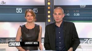 Valérie Amarou dans la Quotidienne du Cinema - 02/05/12 - 01