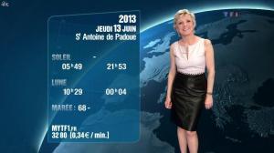 Evelyne Dhéliat à la Météo de 20h - 12/06/13 - 03