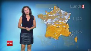 Anais Baydemir à la Météo de 20h - 15/08/14 - 09