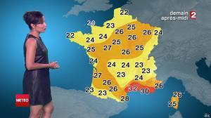 Anais Baydemir à la Météo de 20h - 29/07/14 - 156