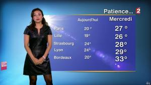 Anaïs Baydemir à la Météo de Midi - 13/07/14 - 01