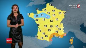 Anaïs Baydemir à la Météo de Midi - 13/07/14 - 12