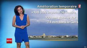 Anais Baydemir à la Météo de Midi - 26/07/14 - 01