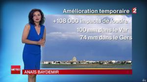 Anaïs Baydemir à la Météo de Midi - 26/07/14 - 02