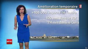 Anaïs Baydemir à la Météo de Midi - 26/07/14 - 03