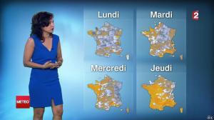Anaïs Baydemir à la Météo de Midi - 26/07/14 - 11