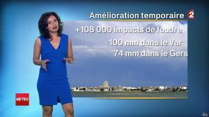 Anais Baydemir à la Météo de Midi - 26/07/14 - 12