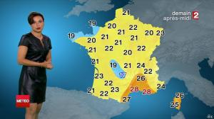 Anaïs Baydemir à la Météo du Soir - 12/07/14 - 035