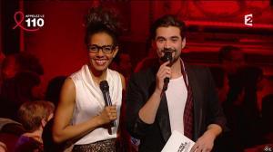 Audrey Pulvar dans Toute la télé Chante Pour le Sidaction - 06/04/13 - 001